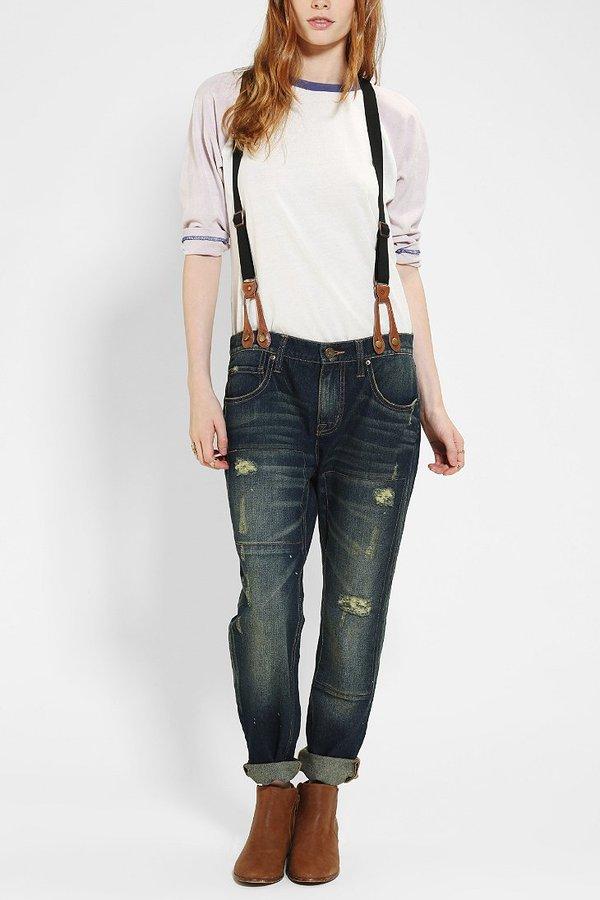 BDG Slim Slouch Suspender Jean