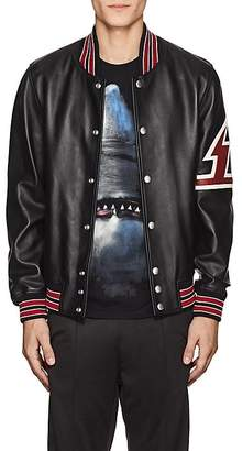 Givenchy Men's Leather Varsity Jacket