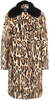 Leopard-print Shearling Coat - Leopard print