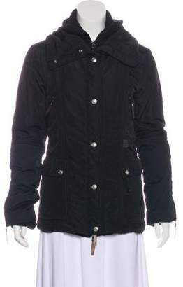 Christian Dior Wool-Paneled Puffer Jacket