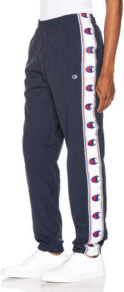 Champion Reverse Weave Elastic Cuff Pant in Navy | FWRD