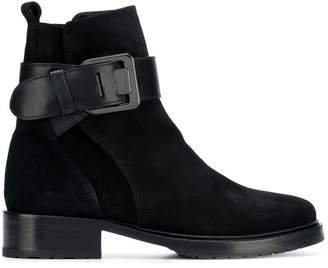 Lanvin buckle ankle boots