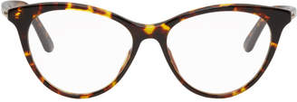 Christian Dior Tortoiseshell Montaigne 57 Glasses