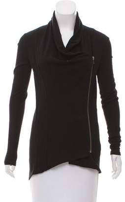 Helmut Lang Zip-Up Wool Jacket
