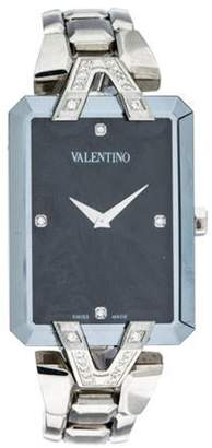 Valentino Gemme Rectangle Watch black Gemme Rectangle Watch