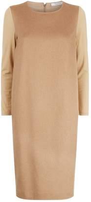 Max Mara Camel Shift Dress
