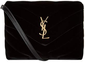 Saint Laurent Velvet Loulou Matelasse Toy Bag