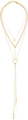Vanessa Mooney The Juno Triple Chain Necklace $85 thestylecure.com