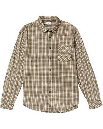 Billabong Men's Flannel Long Sleeve Shirts