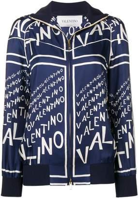 Valentino printed bomber jacket