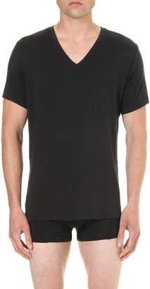 Calvin Klein V-neck jersey t-shirt
