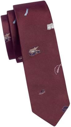 Paul Smith Slim Silk Printed Tie