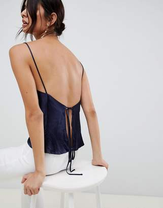 Bec & Bridge disco dancer open back cami