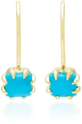 Ila Zephyr 14K Gold Turquoise Earrings