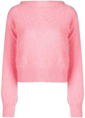 Semi-Couture Semicouture boat neck sweater