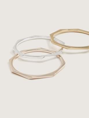 Pack of 3 Minimalist Geo Bracelets