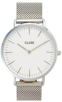 Women's Cluse 'La Boheme' Mesh Strap Watch, 38Mm $99 thestylecure.com