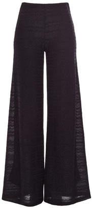 M Missoni Wide Leg Pants with Cotton