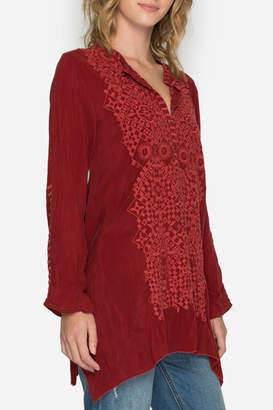 Johnny Was Rona Embroidered Tunic