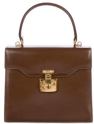 Gucci Vintage Leather Satchel