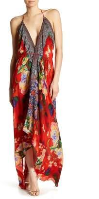 Shahida Parides 3-Way Convertible Print Silk Dress