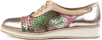 Django & Juliette Cedrical Rose gold multi Shoes Womens Shoes Flat Shoes