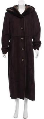 Calvin Klein Textured Button-Up Coat