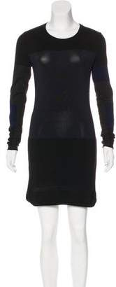 Isabel Marant Wool Colorblock Dress
