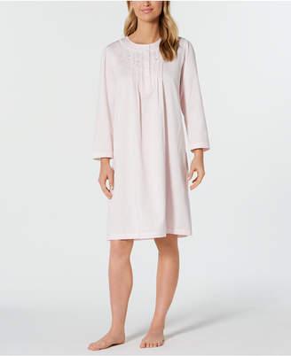 Miss Elaine Brushed-Back Satin Nightgown