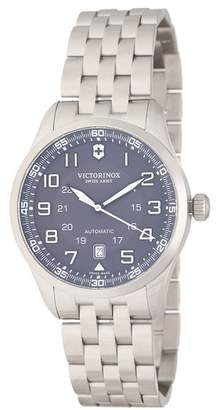 Victorinox Men's Airboss Automatic Bracelet Watch, 42mm