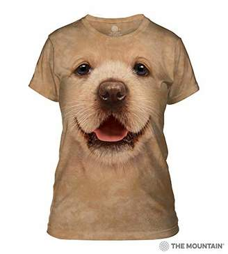 The Mountain Bf Gold Retriev Pup Adult Woman's T-Shirt