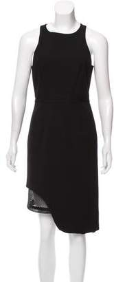 Jonathan Simkhai Mesh-Accented Sleeveless Dress