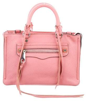 Rebecca Minkoff Leather Micro Regan Satchel
