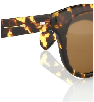 Oliver Peoples Tortoise Jacey Cat-Eye Sunglasses