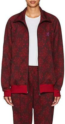Needles Women's Floral Jersey Track Jacket - Red