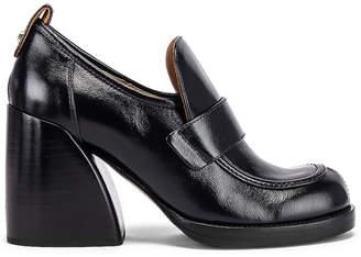 Chloé Adelie Loafers in Black | FWRD
