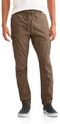 LAZER Men's Flex Twill Angled Pocket Cargo Jogger