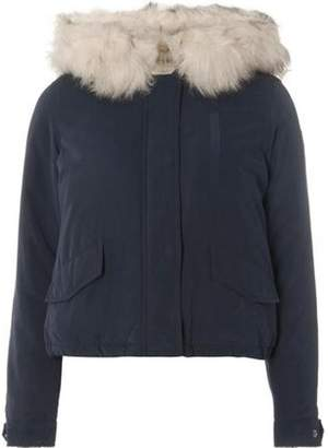 Dorothy Perkins Womens **Only Navy Faux Fur Short Parka