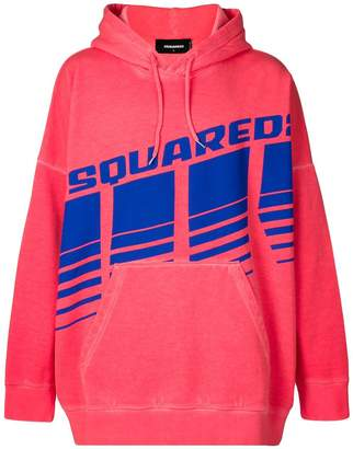 DSQUARED2 logo hoodie
