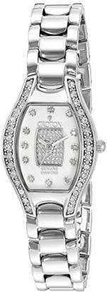 Croton Women's CN207534SSPV Analog Display Quartz Silver Watch