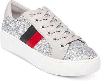 Steve Madden Women's Belle Glitter Fashion Sneakers