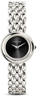 Versace V-Flare Silver Bracelet Watch, 28mm