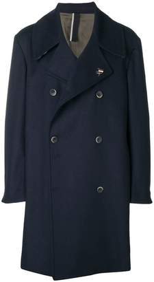 Low Brand boxy double-breasted coat