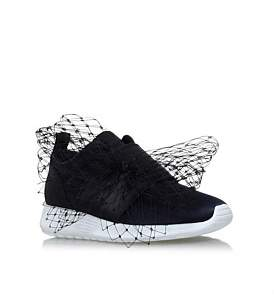 Kurt Geiger London Letty Navy Low Top Trainers