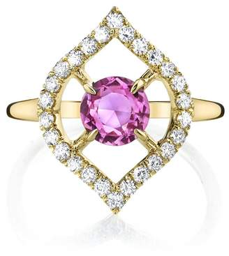ARK Fine Jewelry Small Nectar Pink Sapphire Ring