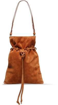 Elena Ghisellini Suede Shoulder Bag