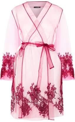 I.D. Sarrieri Colette Short Lace Robe