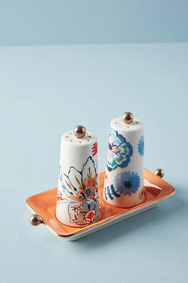 Anthropologie Eres Salt & Pepper Shakers