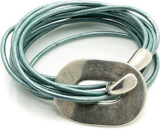 L'ge LGE Statement Leather Bracelet