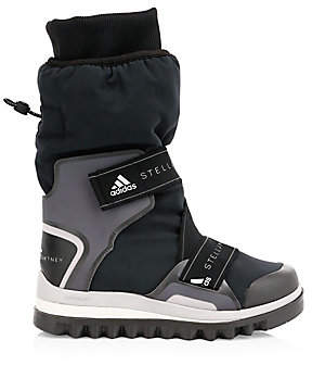 adidas by Stella McCartney Women's Cuffed Logo Winter Boots